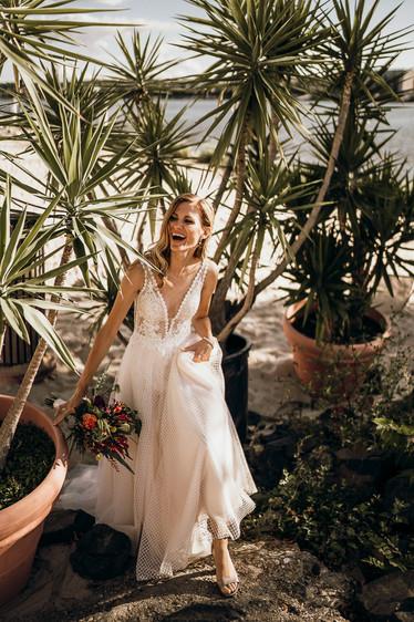 Palmen bride