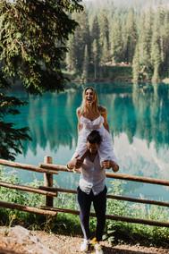 Romantische Fotoshooting in Südtirol
