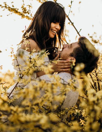 Romantische Paarfotos, Paar Fotoshooting