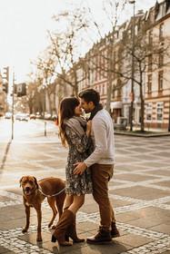 Paarshooting mit dem Hund