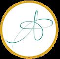 SW mono turq gold circle med.png
