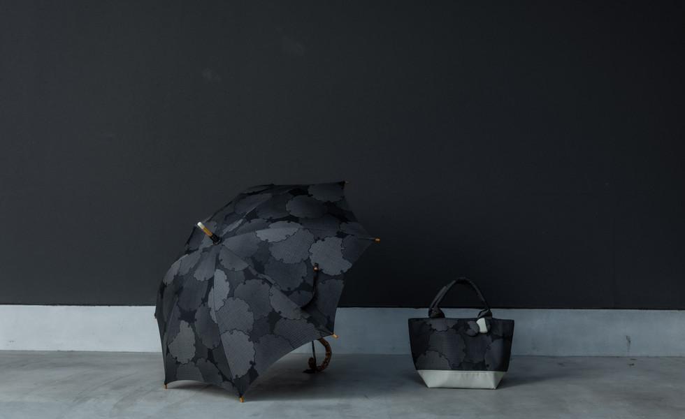 umbrella & bag ( Black )