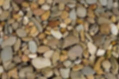 Stone ued for mulching purposes