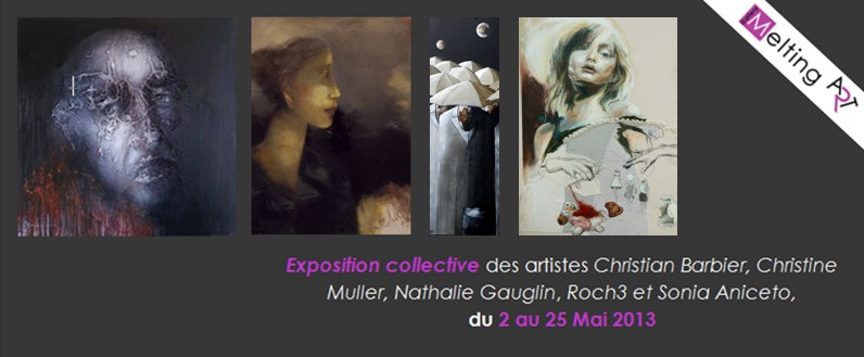 expo collective 2013 galerie Melting Art