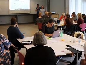 Det var meget positivt til workshoppen i forbindelse med Visionen Grindsted – den grønne hovedstad