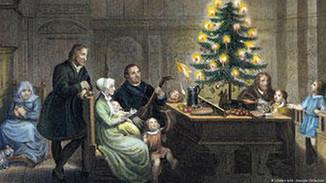 CURIOSIDADES DO NATAL - Martinho Lutero e a primeira árvore decorada