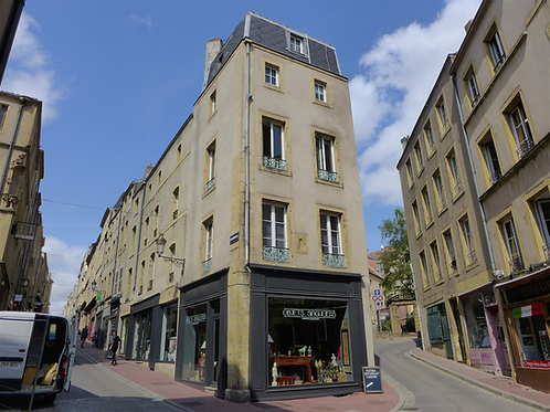 Metz hyper-centre / 2 pièces