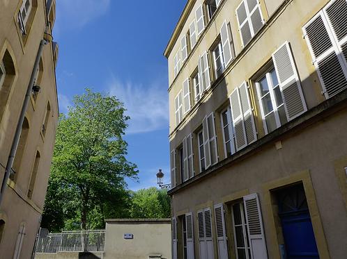 Metz hyper centre / 2 pièces