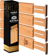 Bamboo Drawer Dividers