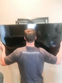 TV Wall Mount Intallation