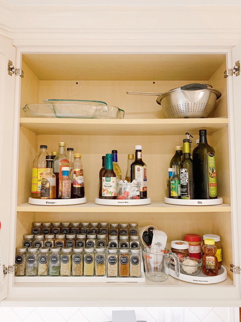 Spice Cabinet After