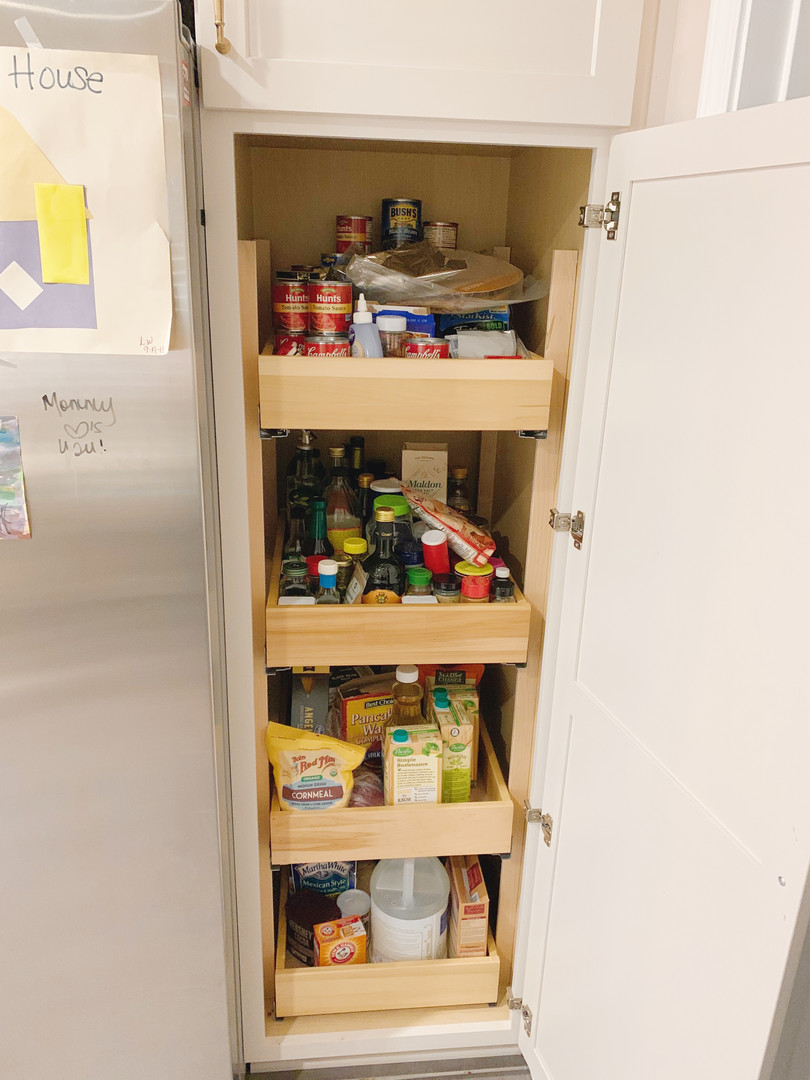 Pantry Cabinet Before