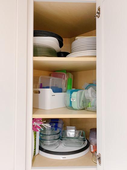 Corner Cabinet After