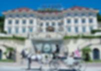 Facciata dell'Acteon palace Hotel