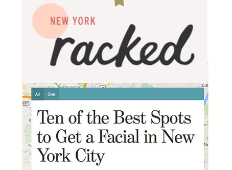 Racked features Pretty Please for Best Facial