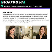 best facial nominated in huffpost