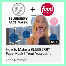 detox facial featured on the Food Network