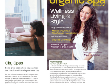Organic Spa Mag Feature