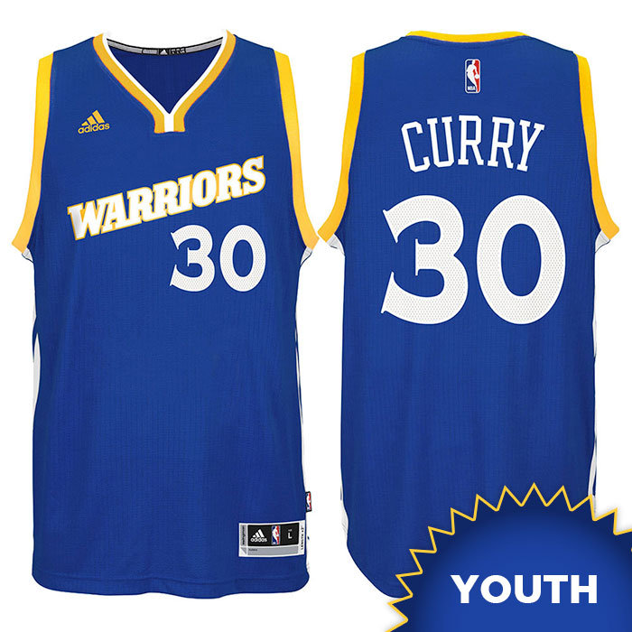 online store fe706 cdeeb Stephen Curry #30 Golden State Warriors Youth Large NBA Basketball Adidas  Jersey | mysite