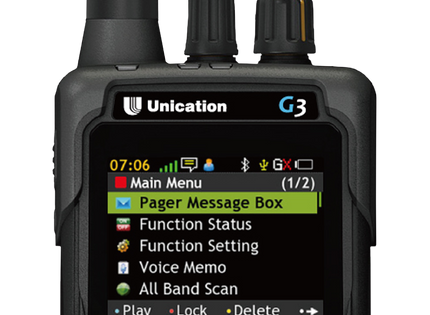 G3 P25 Dual Band Voice Pager