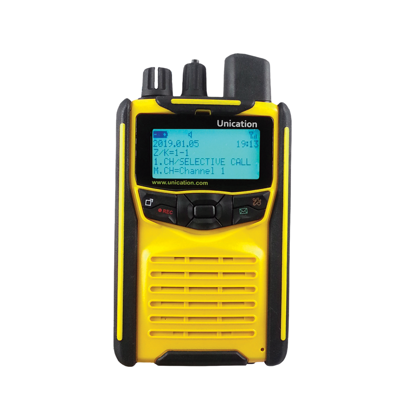 Yellow G1 Voice Pager