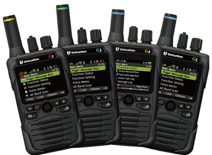 G-Series P25 Voice Pager Product Line