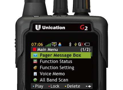 G2 P25 Voice Pager
