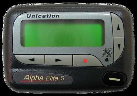 Advisor II, Advisor Pager, Motorola Advisor, Advisor 2, Alpha Elegant Pager, Unication Pager, pocsag pager, alpha pager