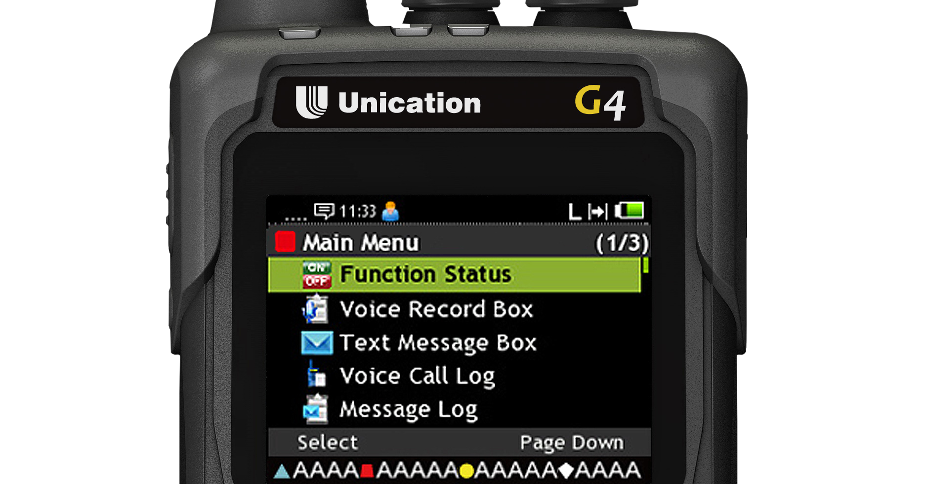 G4 P25 Voice Pager