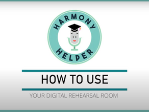 Harmony Helper App Tutorial Video Voiceovers