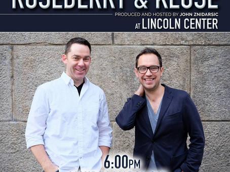 """Broadway's Future"" at Lincoln Center"