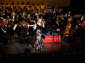 Sarah is a Pinch Hitter for a Symphony