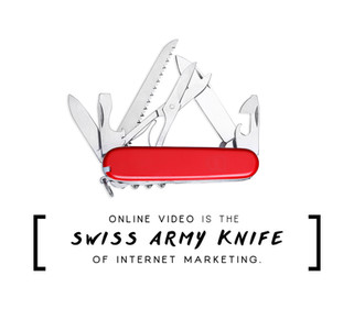 Online Video is the Swiss Army Knife of Internet Marketing