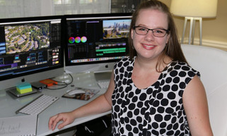 VoyageATL Interview with Executive Producer Megan (Clark) Roberge of Atlanta Business Video