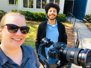 Behind the scenes multifamily photo