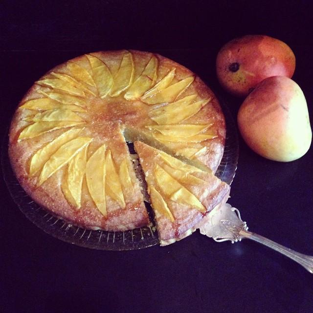 Instagram - Our beautiful flourless orange, mango and ginger cake with orange bl
