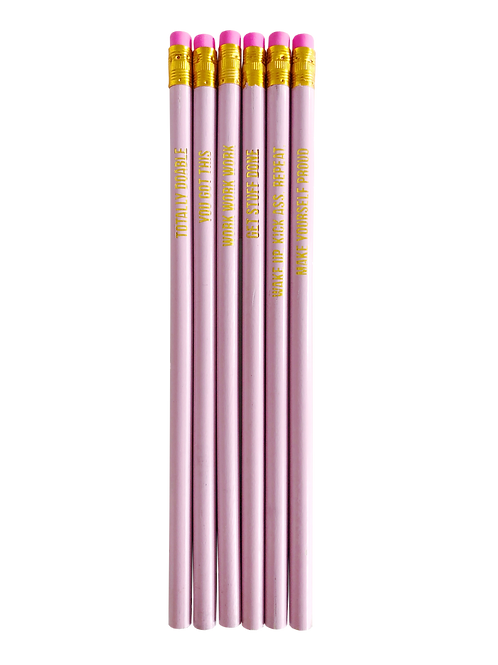 Pretty Pink Pencil set