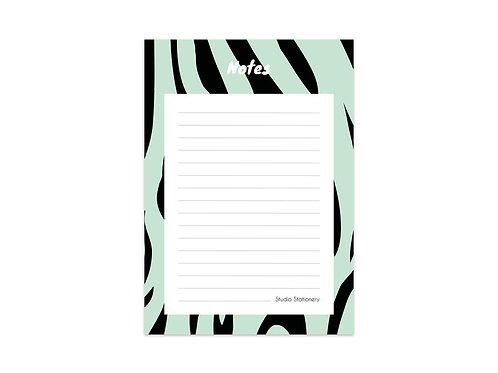 Notablok Zebra Mint