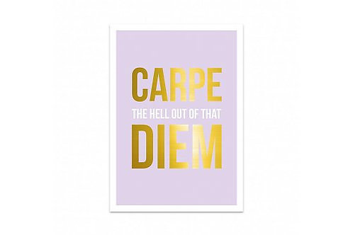 Card 'Carpe Diem'