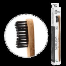 Tandenborstel bamboe zwart