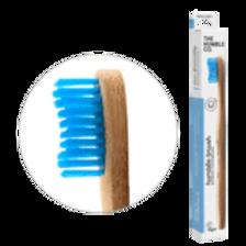 Tandenborstel bamboe blauw