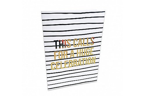 Greeting Card 'This calls for a huge celebration'