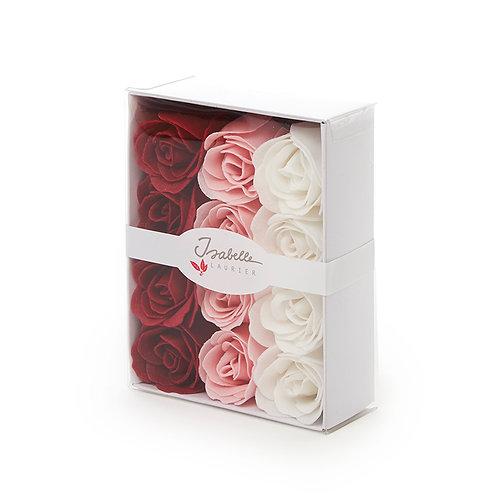 Luxe Box 12 Confetti Roses