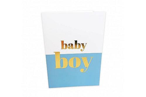 Greeting Card 'Baby Boy'