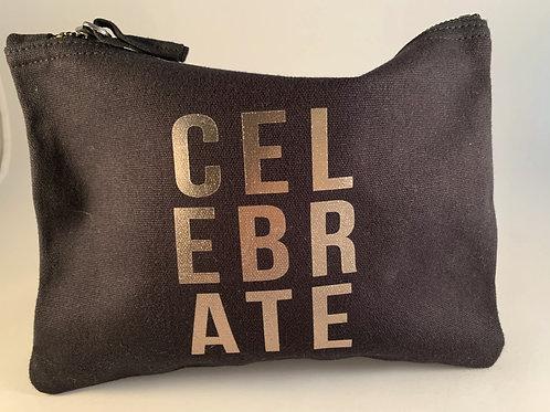 """Celebrate"" tasje zwart L"