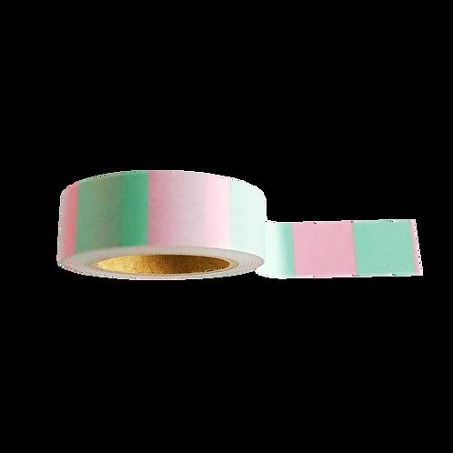 Washi Tape Mint-Pink