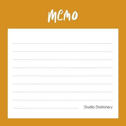 Notablok Mini Memo