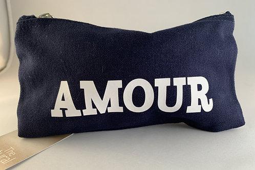 """""""Amour"""" tasje blauw"""