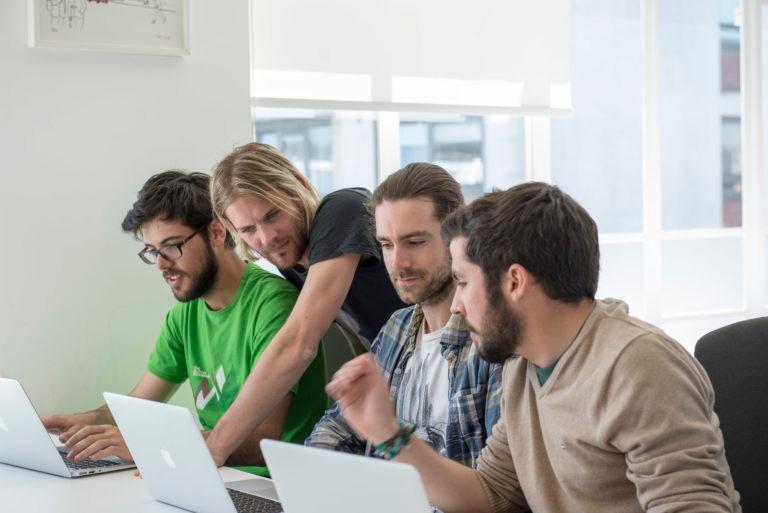 Colaboración en Coworking