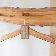 街の木のハンガー&ペグボード
